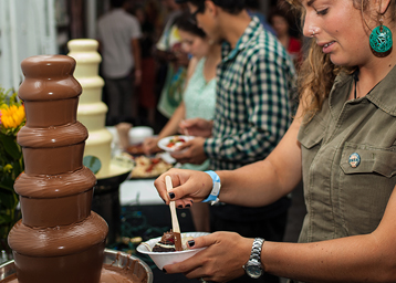 Chocolate and art show best art show events for Craft fairs in phoenix az